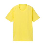 【2013新品现货】明黄色纯棉文化衫