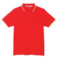 必威体育娱乐app官网款经典红色撞色领设计POLO衫