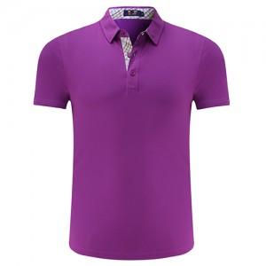 紫色精品翻领T恤衫-必威体育娱乐app官网LOGO