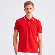 经典大红高档POLO衫-必威体育娱乐app官网LOGO